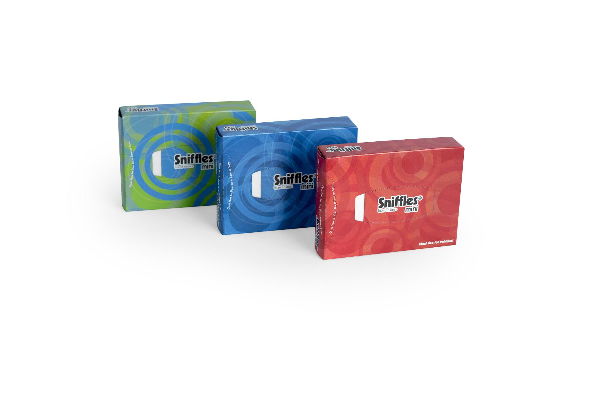 Case Blue Mini Pack : Precision paper converters sniffles® mini auto u2013 8 pack